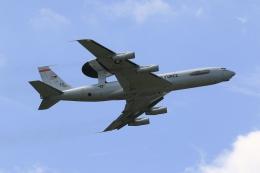F-4さんが、横田基地で撮影したアメリカ空軍 E-3B Sentry (707-300)の航空フォト(飛行機 写真・画像)