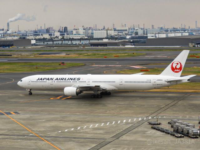 池さん@JA381Aさんが、羽田空港で撮影した日本航空 777-346の航空フォト(飛行機 写真・画像)
