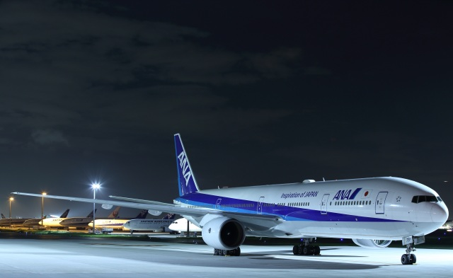 いんちゃんさんが、羽田空港で撮影した全日空 777-381の航空フォト(飛行機 写真・画像)