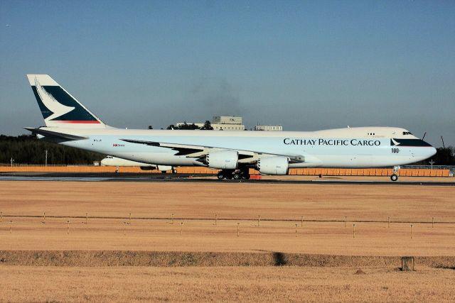 キットカットさんが、成田国際空港で撮影したキャセイパシフィック航空 747-867F/SCDの航空フォト(飛行機 写真・画像)