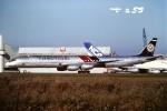 tassさんが、成田国際空港で撮影したフライング・タイガー・ライン DC-8-73CFの航空フォト(飛行機 写真・画像)
