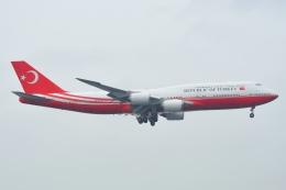 あおいそらさんが、関西国際空港で撮影したトルコ政府 747-8ZV(BBJ)の航空フォト(飛行機 写真・画像)