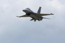 元青森人さんが、松島基地で撮影したアメリカ空軍 F-16CM-50-CF Fighting Falconの航空フォト(飛行機 写真・画像)