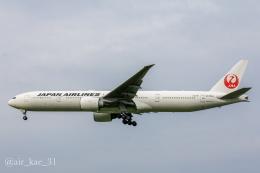 かっちゃん✈︎さんが、成田国際空港で撮影した日本航空 777-346/ERの航空フォト(飛行機 写真・画像)