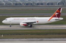 TIA spotterさんが、ノイバイ国際空港で撮影したスマートリンクス・エストニア A320-232の航空フォト(飛行機 写真・画像)