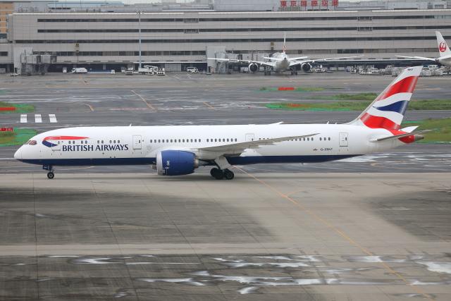 TIA spotterさんが、羽田空港で撮影したブリティッシュ・エアウェイズ 787-9の航空フォト(飛行機 写真・画像)