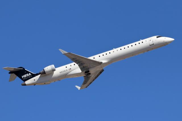 キャスバルさんが、フェニックス・スカイハーバー国際空港で撮影したメサ・エアラインズ CL-600-2D24 Regional Jet CRJ-900の航空フォト(飛行機 写真・画像)
