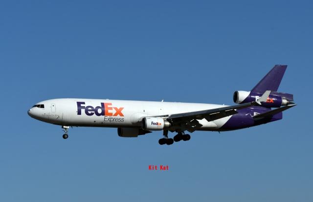 キットカットさんが、成田国際空港で撮影したフェデックス・エクスプレス MD-11Fの航空フォト(飛行機 写真・画像)