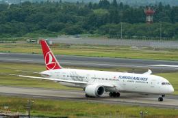K.Sさんが、成田国際空港で撮影したターキッシュ・エアラインズ 787-9の航空フォト(飛行機 写真・画像)