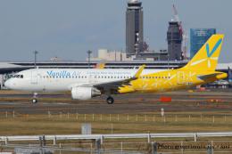 いおりさんが、成田国際空港で撮影したSMBCアヴィエーションキャピタル A320-214の航空フォト(飛行機 写真・画像)