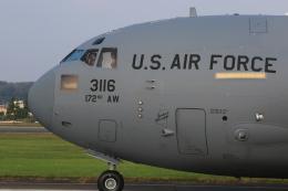 F-4さんが、横田基地で撮影したアメリカ空軍 C-17A Globemaster IIIの航空フォト(飛行機 写真・画像)