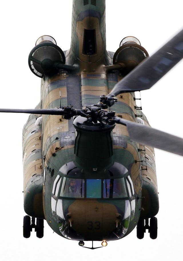 LOTUSさんが、八尾空港で撮影した陸上自衛隊 CH-47Jの航空フォト(飛行機 写真・画像)