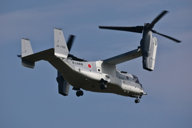 soiwbusさんが、木更津飛行場で撮影した陸上自衛隊 V-22の航空フォト(飛行機 写真・画像)