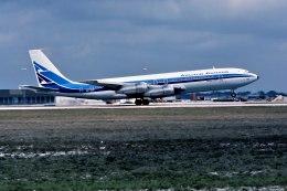パール大山さんが、マイアミ国際空港で撮影したアルゼンチン航空 707-387Bの航空フォト(飛行機 写真・画像)