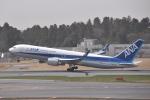 turenoアカクロさんが、成田国際空港で撮影した全日空 767-381/ERの航空フォト(飛行機 写真・画像)