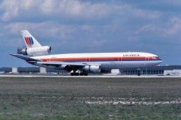 パール大山さんが、マイアミ国際空港で撮影したユナイテッド航空 DC-10-10の航空フォト(飛行機 写真・画像)