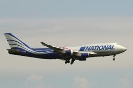 wingace752さんが、三沢飛行場で撮影したナショナル・エアラインズ 747-428(BCF)の航空フォト(飛行機 写真・画像)