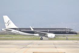 Hii82さんが、関西国際空港で撮影したスターフライヤー A320-214の航空フォト(飛行機 写真・画像)