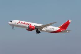 takoyanさんが、ロサンゼルス国際空港で撮影したアビアンカ航空 787-8 Dreamlinerの航空フォト(飛行機 写真・画像)