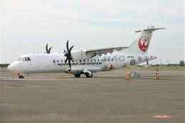 乗り物大好きライター・ヨッシーさんが、札幌飛行場で撮影した北海道エアシステム ATR 42-600の航空フォト(飛行機 写真・画像)