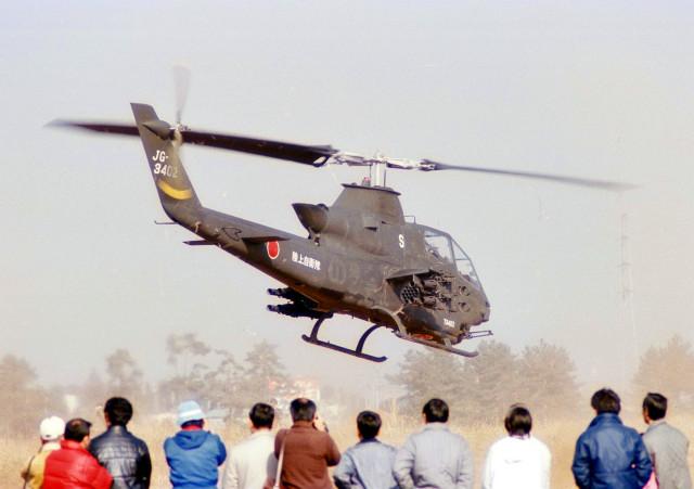 masahiさんが、習志野演習場で撮影した陸上自衛隊 AH-1Sの航空フォト(飛行機 写真・画像)
