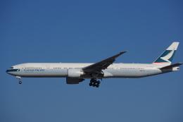 JA8037さんが、成田国際空港で撮影したキャセイパシフィック航空 777-367/ERの航空フォト(飛行機 写真・画像)