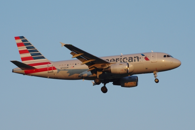zettaishinさんが、ブラッドレー国際空港で撮影したアメリカン航空 A319-112の航空フォト(飛行機 写真・画像)