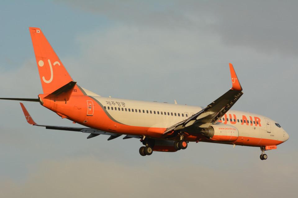 banshee02さんのチェジュ航空 Boeing 737-800 (HL8263) 航空フォト