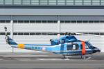 banshee02さんが、東京ヘリポートで撮影した警視庁 412EPの航空フォト(飛行機 写真・画像)
