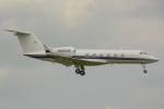 banshee02さんが、成田国際空港で撮影したユタ銀行 G-V Gulfstream V-SPの航空フォト(飛行機 写真・画像)