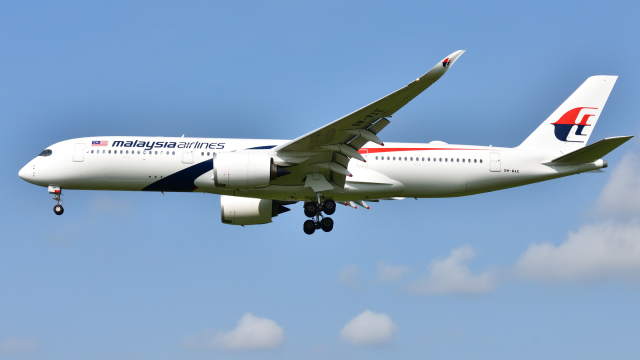 saoya_saodakeさんが、成田国際空港で撮影したマレーシア航空 A350-941の航空フォト(飛行機 写真・画像)