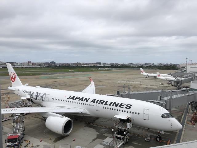nontan8さんが、福岡空港で撮影した日本航空 A350-941の航空フォト(飛行機 写真・画像)