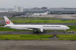 kuraykiさんが、羽田空港で撮影した日本航空 777-346/ERの航空フォト(飛行機 写真・画像)