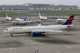 kuraykiさんが、羽田空港で撮影したデルタ航空 A330-941の航空フォト(飛行機 写真・画像)