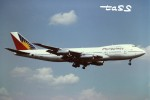 tassさんが、成田国際空港で撮影したフィリピン航空 747-211Bの航空フォト(飛行機 写真・画像)