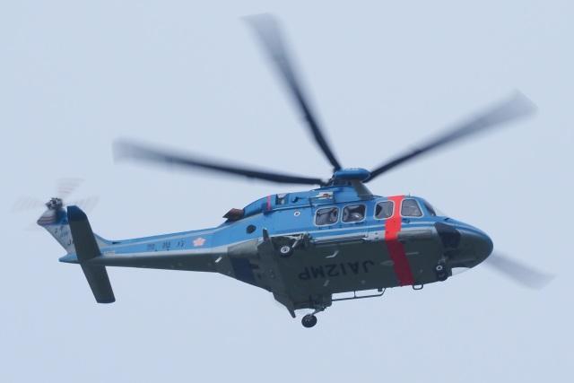 飛行機ゆうちゃんさんが、東京ヘリポートで撮影した警視庁 AW139の航空フォト(飛行機 写真・画像)
