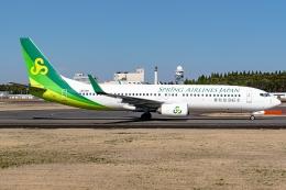 Ariesさんが、成田国際空港で撮影した春秋航空日本 737-81Dの航空フォト(飛行機 写真・画像)