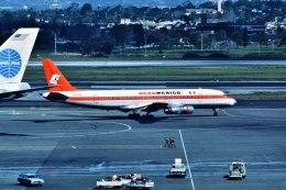 パール大山さんが、ロサンゼルス国際空港で撮影したアエロメヒコ航空 DC-8-51の航空フォト(飛行機 写真・画像)