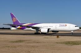 Ariesさんが、成田国際空港で撮影したタイ国際航空 777-2D7/ERの航空フォト(飛行機 写真・画像)