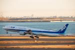SGR RT 改さんが、羽田空港で撮影した全日空 777-381の航空フォト(飛行機 写真・画像)