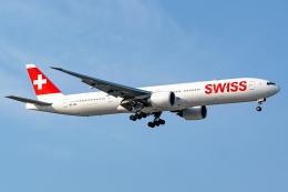 Ariesさんが、成田国際空港で撮影したスイスインターナショナルエアラインズ 777-3DE/ERの航空フォト(飛行機 写真・画像)