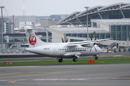 Yusuke✈︎さんが、福岡空港で撮影した日本エアコミューター ATR-42-600の航空フォト(飛行機 写真・画像)