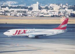 プルシアンブルーさんが、伊丹空港で撮影したJALエクスプレス 737-446の航空フォト(飛行機 写真・画像)