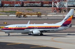 キャスバルさんが、フェニックス・スカイハーバー国際空港で撮影したアメリカン航空 737-823の航空フォト(飛行機 写真・画像)