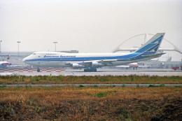 Gambardierさんが、ロサンゼルス国際空港で撮影したアルゼンチン航空 747-287Bの航空フォト(飛行機 写真・画像)
