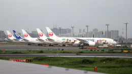 誘喜さんが、羽田空港で撮影した日本航空 787-9の航空フォト(飛行機 写真・画像)