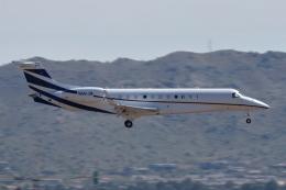 キャスバルさんが、フェニックス・スカイハーバー国際空港で撮影したJFM G-IV Gulfstream IVの航空フォト(飛行機 写真・画像)