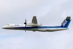 K.Sさんが、伊丹空港で撮影したANAウイングス DHC-8-402Q Dash 8の航空フォト(飛行機 写真・画像)