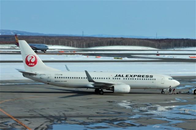 Rsaさんが、新千歳空港で撮影したJALエクスプレス 737-846の航空フォト(飛行機 写真・画像)