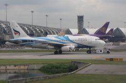 Rsaさんが、スワンナプーム国際空港で撮影したバンコクエアウェイズ A319-132の航空フォト(飛行機 写真・画像)